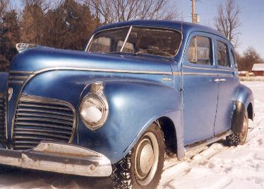 Gus my 1941 plymouth 4 door for 1941 plymouth 4 door sedan