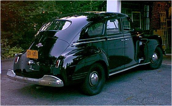 Gus my 1941 plymouth 4 door for 1946 plymouth special deluxe 4 door